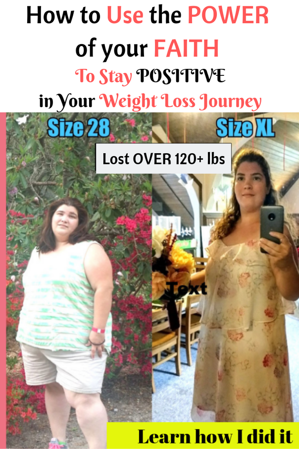 how to use your faith to stay positive in your weight loss journey | faith to stop binge eating