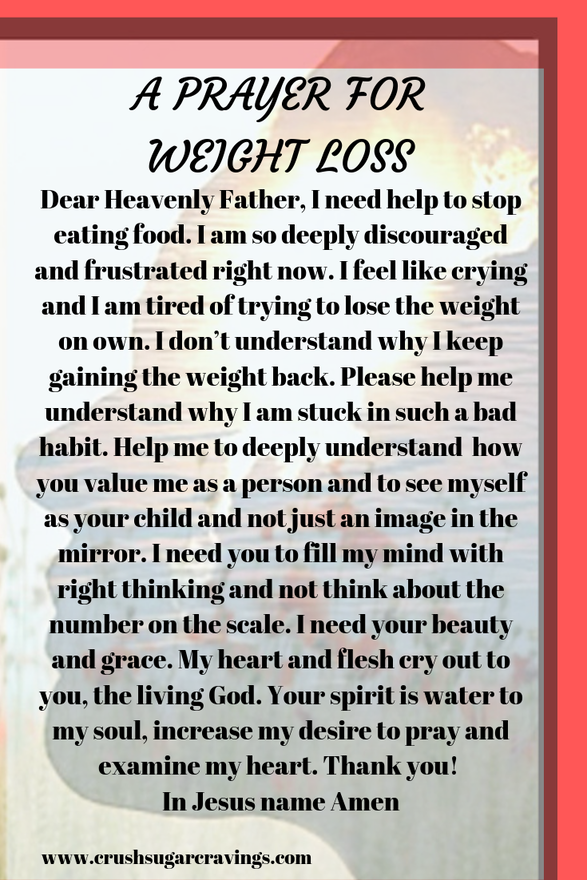 prayer for weight loss | weight loss prayers